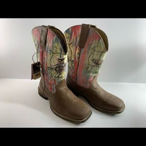 Roper girls size 3 boots